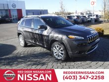 2016 Jeep Cherokee Limited | 4WD | V6 | LEATHER | HEATED SEATS