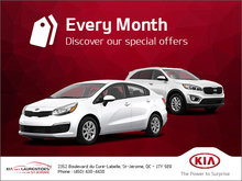 Discover Kia's Monthly Special Offers