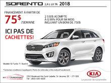 Le Kia Sorento 2018