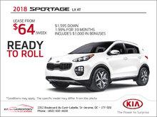 The Brand-New 2018 Kia Sportage
