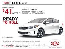 The 2018 Kia Forte