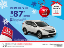 CR-V Holiday Bonus!