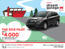 Get the 2019 Honda Pilot!