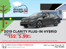 Lease the 2019 Honda Clarity!