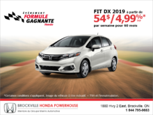 Louez la Honda Fit 2019!