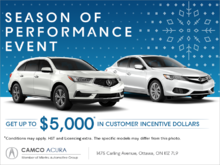 The Acura Season of Performance Event