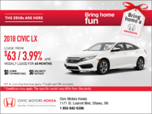Save on the 2018 Honda Civic Today!