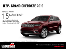 Conduisez un Jeep Grand Cherokee 2019!