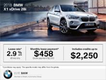 2018 BMW X1 xDrive28i