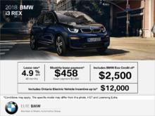 2018 BMW i3 REX
