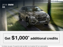 2018 BMW X6 - The Black Friday Event.