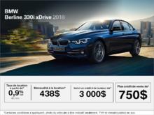 BMW 330i xDrive Berline 2018