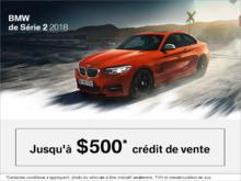 BMW Série 2 2018 - L'événement du Vendredi Fou.