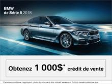 BMW Série 5 2018 - L'événement du Vendredi Fou.