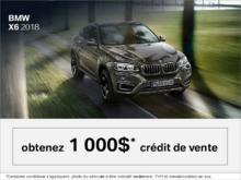 BMW X6 2018 - L'événement du Vendredi Fou.