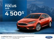 Ford Focus 2018!