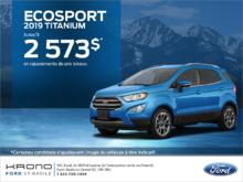Ford EcoSport 2019!