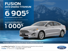 Ford Fusion 2019!