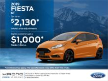 2019 Ford Fiesta Sedan!