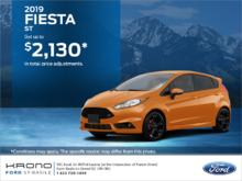 2019 Ford Fiesta Hatchback!