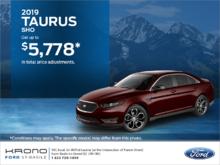 2019 Ford Taurus!