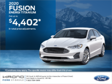 2020 Ford Fusion!