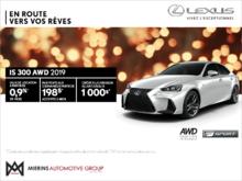 Procurez-vous la Lexus IS 300 AWD 2019!
