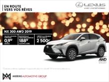 Procurez-vous la Lexus NX 300 2019!