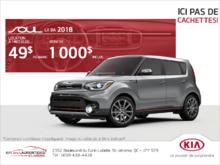 Le Kia Soul 2018