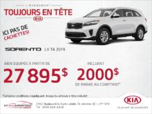 Le Kia Sorento 2019