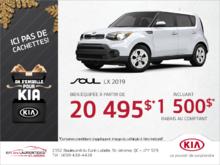 Le Kia Soul 2019