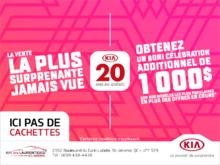 L'événement les 20 ans de KIA au Québec!
