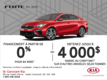 La Kia Forte 2019!