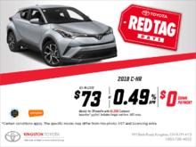Toyota's 2018 C-HR!