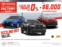 Toyota 2018 Factory event!