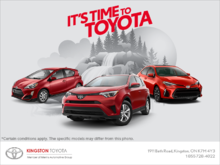 It's Time to Toyota!