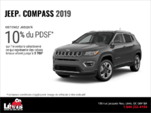 Conduisez un Jeep Compass 2019!