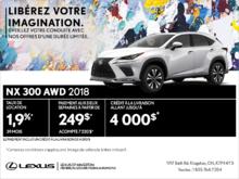 Procurez-vous la Lexus NX 300 2018!
