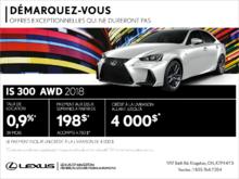 Procurez-vous la Lexus IS 300 2018!