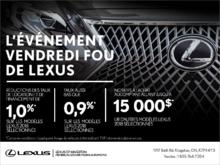 L'événement Vendredi Fou de Lexus