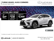 Get the 2019 Lexus NX 300 today!