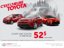C'est l'heure Toyota!