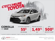 Toyota Corolla Berline 2019