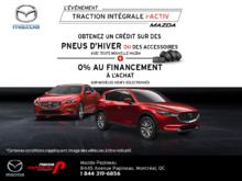 L'événement Traction intégrale i-ACTIV Mazda