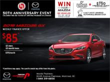 Lease the 2018 Mazda6!