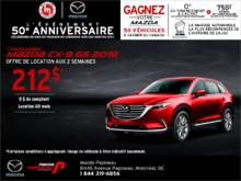 Louez la Mazda CX-9 2018 aujourd'hui!