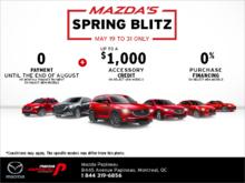 Mazda's Spring Blitz