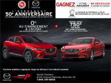 L'événement 50e anniversaire de Mazda!