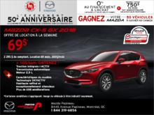 Procurez-vous la Mazda CX-5 2018!