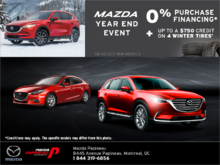 The Mazda Year End Event!